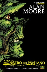 O Monstro do Pântano, na reformulação de Alan Moore e Stephen Bissete.